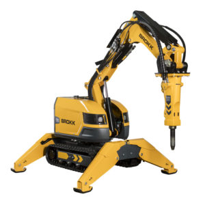 Brokk 170 - The Lean Mean Demolition Machine