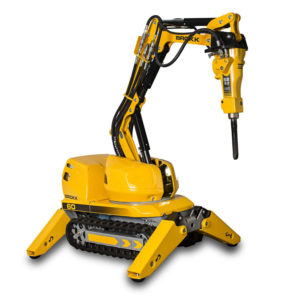 Brokk 60 - Demolition robot: Brokk 60 Mark II – More power in minimal spaces