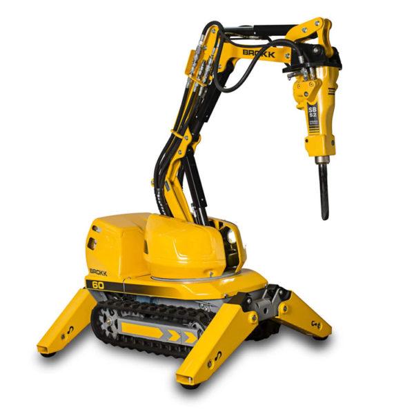 Brokk 60 - Demolition robot: Brokk 60 Mark II – More power in minimal spaces