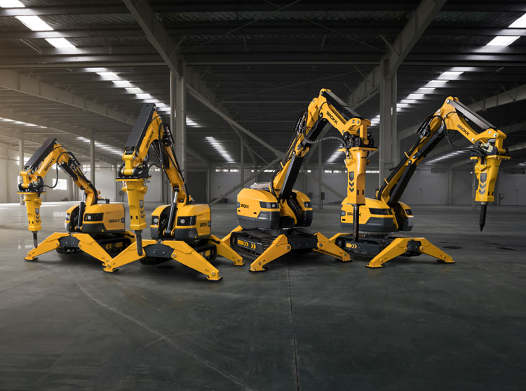 With easy and early access, maximum maintenance efficiency and operator safety, Brokks demolition machine robots brings new, concrete advantages