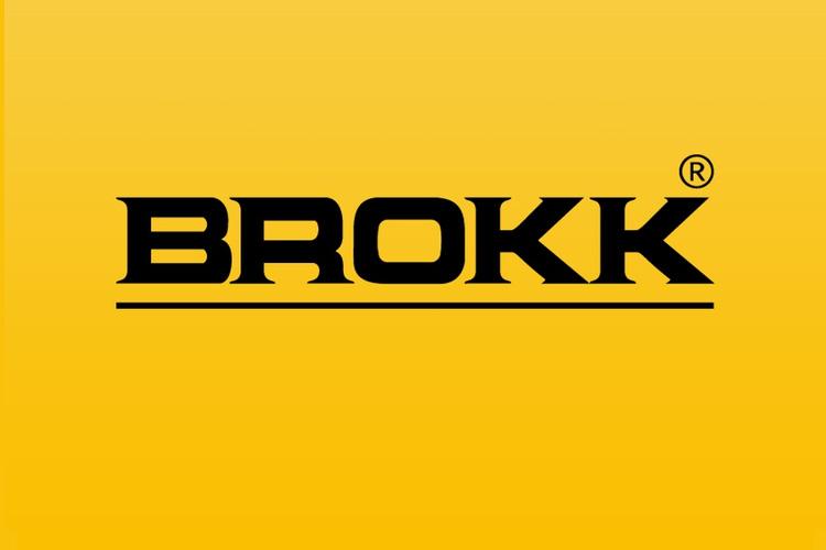 Brokk Logo - The definitive demolition robot