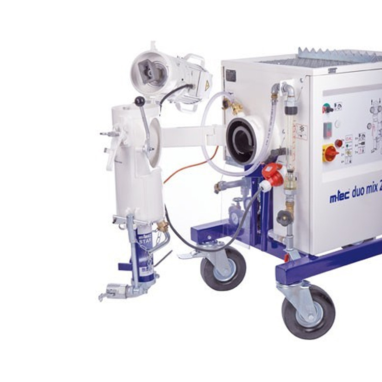 Duo Mix 2000 Si Fe Self Levelling Screed Mixer Pump Hire