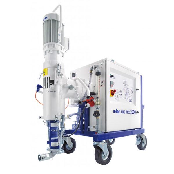 Duo Mix 2000 Si Plaster Render Spraying Mixer Pump