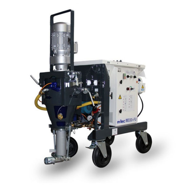 M330 Plus Plaster Render Spraying Mixer Pump