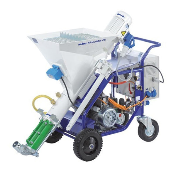 Mono-Mix Render Plaster Spraying Mixer Pump