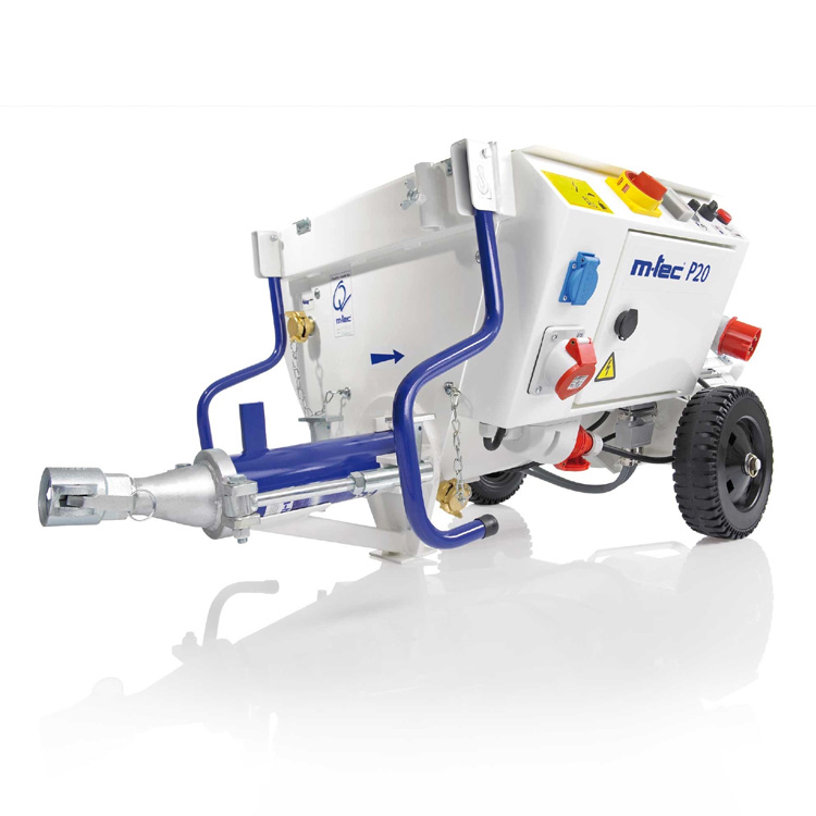 P20 Mortar Render Plaster Pump Spraying Machine