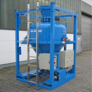 Uelzener T115 Vessel Type Gunite Machine